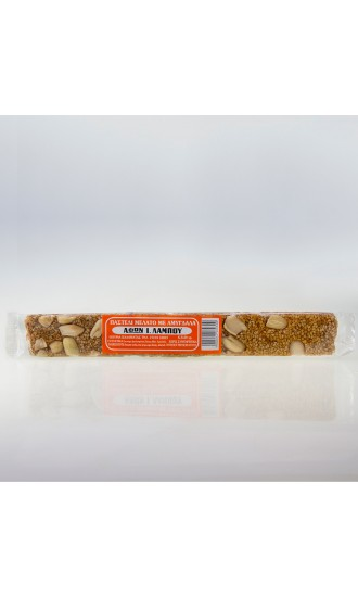Soft Sesane Seed Bar with Almonds 80gr