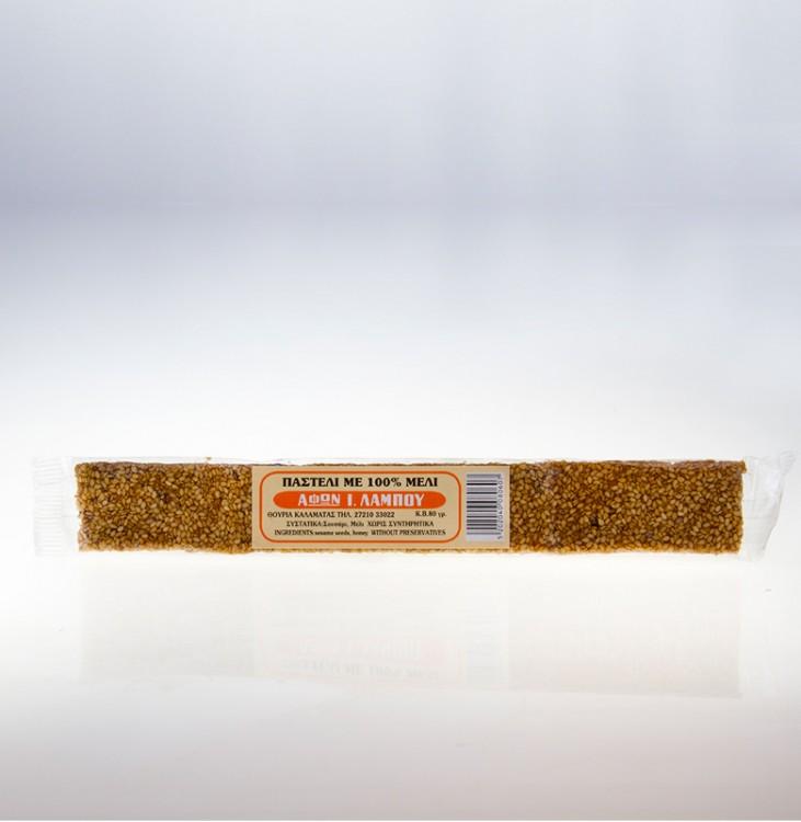 ΠΑΣΤΕΛΙ από 100% Μέλι 80γρ