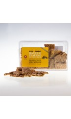 Crispy Sesame Seed Bar with Almonds 150gr